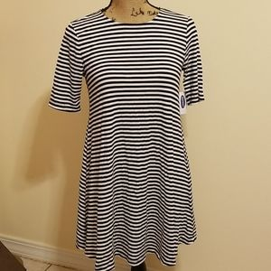 NWT Old Navy Striped Dress Small Petite